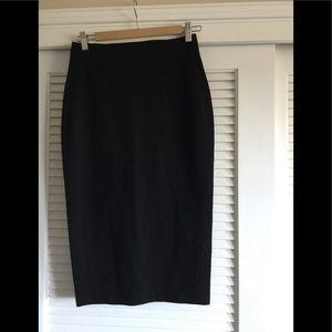 Black Stretch Vince Camuto Pencil Skirt